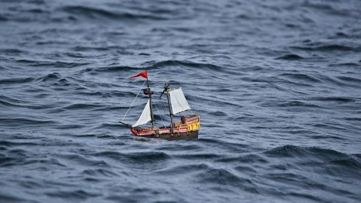 Photo of 'Adventure': el barco de Playmobil que cruzó el Atlántico