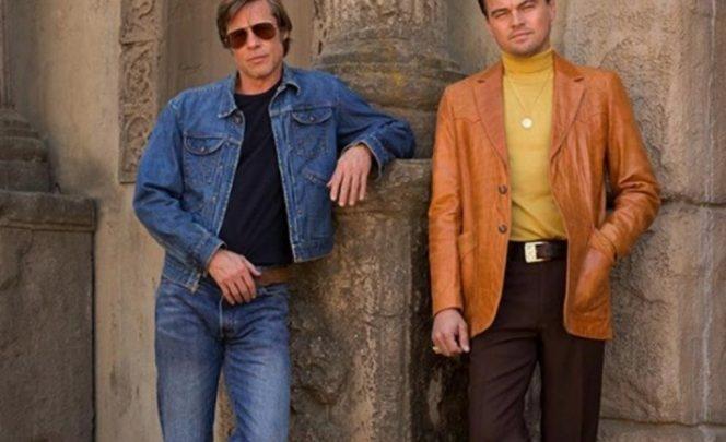 DiCaprio y Brad Pitt, en la primera imagen publicada sobre el nuevo proyecto de Tarantino.