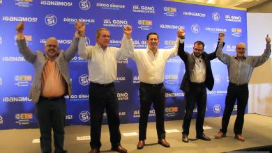 Photo of Diego Sinhue se declara ganador