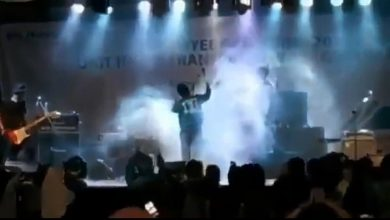 Photo of Una ola en el escenario