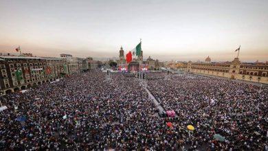 Photo of 160 mil personas celebran la 'Cuarta Transformación'