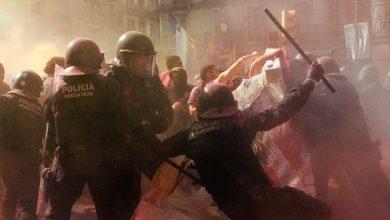 Photo of Tensión nacionalista en las calles de Barcelona
