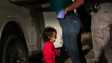 Photo of 'Niña llorando en la frontera': la foto del 2019