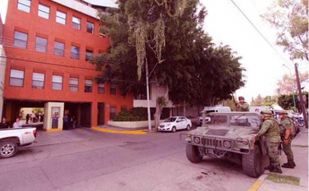 Photo of Asaltan las oficinas de la Secretaría de Seguridad de León