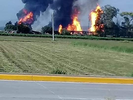 Photo of Explosión de un ducto de Pemex en Celaya