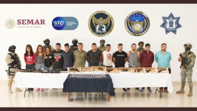Photo of Golpe al CJNG en GTO: detienen a 16 sicarios