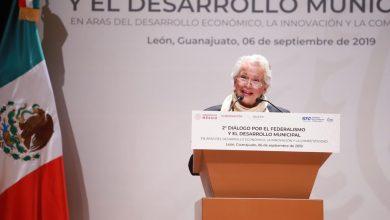 Photo of Olga Sánchez Cordero en León