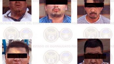 Photo of Cae en Celaya una banda de ocho extorsionadores