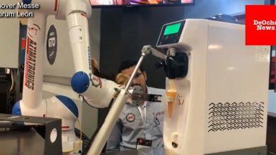 Photo of Un robot que despacha helados a los niños
