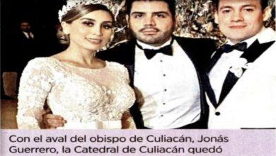 Photo of Cierran la Catedral para la boda de la hija del Chapo Guzmán