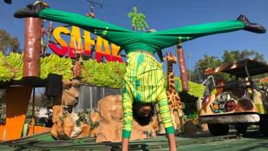Photo of La Feria de un acróbata de Circo, en León