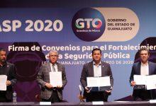 Photo of Diecisiete municipios de Guanajuato firman convenio para recursos del Fortaseg