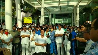"""Photo of """"No somos inmunes"""": manifiestan trabajadores de la C-58"""