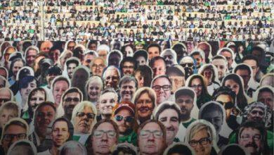Photo of Así son los aficionados de cartón en el futbol de Alemania