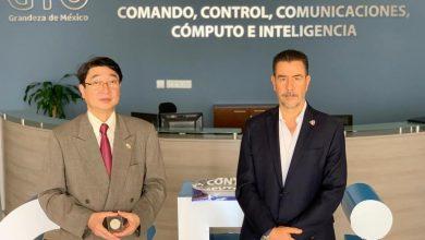 Photo of Cónsul de Japón conoce el sistema de seguridad C5i