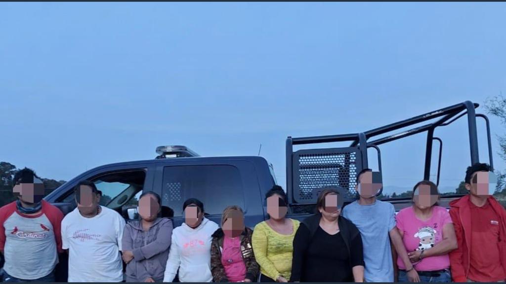 Algunos de los colaboradores del Cártel de Santa Rosa de Lima