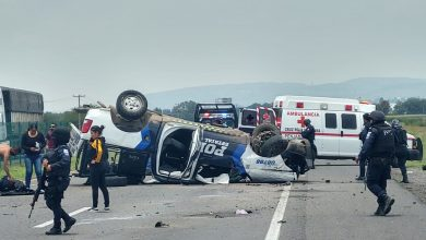 Photo of Lamentan muerte de cuatro policías en accidente