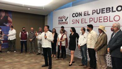 Photo of «Ahorita todos son precandidatos», dijo Mario Delgado de sobre Marcelino Trejo