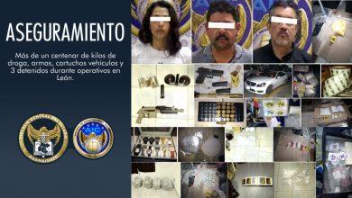 Photo of En León aseguran 3 domicilios que resguardaban cientos de kilos de droga
