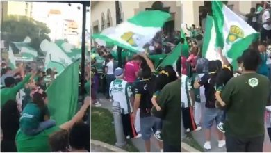 Photo of Selección de videos del emotivo adiós al León en su destierro