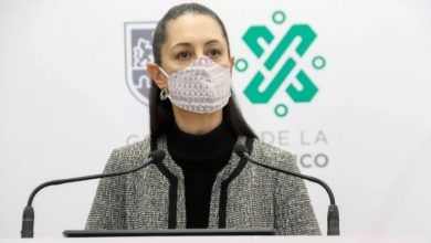 Photo of Claudia Sheinbaum dio positivo a Covid-19
