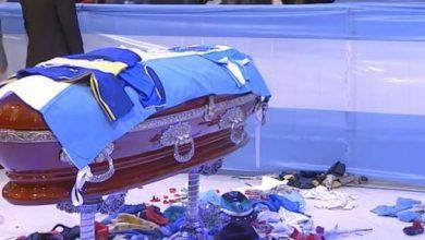 Photo of EN VIVO / Funeral de Estado para llorar al '10'
