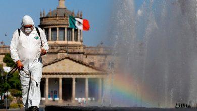Photo of Nuevo récord de muertos diarios por Covid-19 en México
