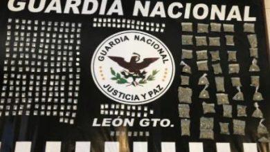 Photo of Aseguran 60 mil 768 dosis de droga en Guanajuato