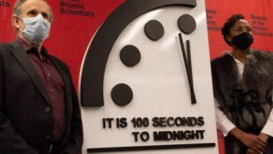 Photo of El 'Reloj del Juicio Final' se acerca al apocalipsis