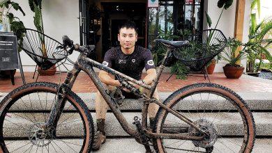 Photo of El japonés que recorre México en bicicleta