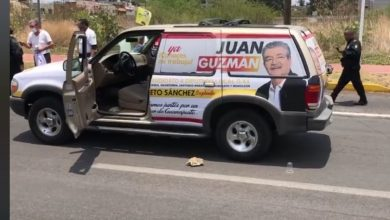 Photo of Moroleón: atacan a tiros al candidato Juan Guzmán