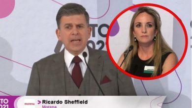 """Photo of Sheffield debate, pero con la analista invitada: """"No mientas"""" le dice"""