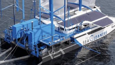 Photo of 'Manta': catamarán contra el plástico