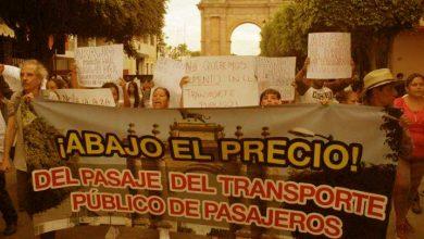 Photo of Marcha contra la subida del transporte público en León