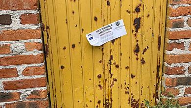 Photo of La puerta amarilla que El Marro no pudo usar para escapar