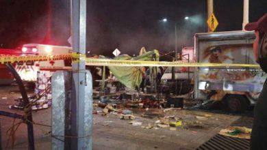 Photo of Explosión en tianguis de Celaya