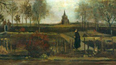 Photo of Cae el ladrón de la obra 'Spring Garden' de Van Gogh