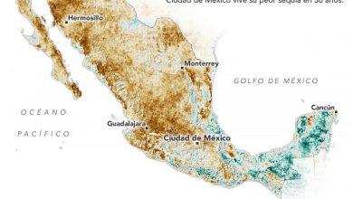 Photo of Alerta de la NASA: México se seca