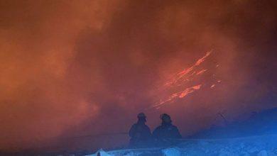 Photo of Incendio de 7 horas en el relleno sanitario de León